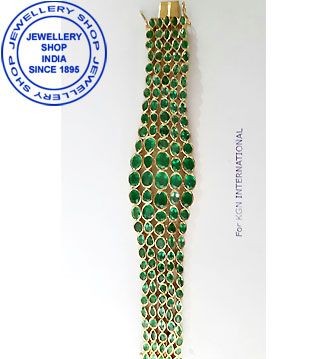 Emerald Gemstone Bracelet Designs for Women