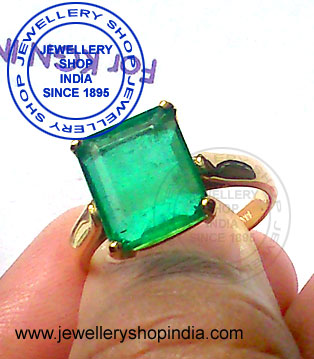 Emerald Gemstone Ring Design for Men
