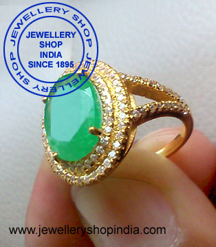 Emerald Gemstone Ring Designs for Women