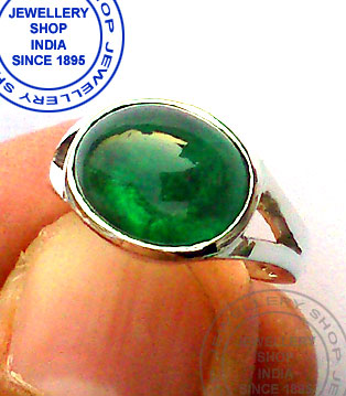Natural Emerald Gemstone Ring Designs
