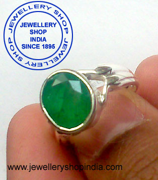 Emerald Stone Ring Designs for Girls