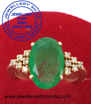 Marrige Emerald Gemstone Ring Designs