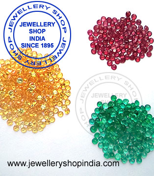Emerald Ruby Yellow Sapphire Loose Gemstones