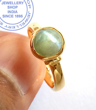 Jewellery Design Chrysoberyl Stone Ring in Gold