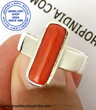 Red Coral Ring Design