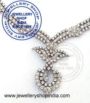 Natural Diamond Necklace Designs