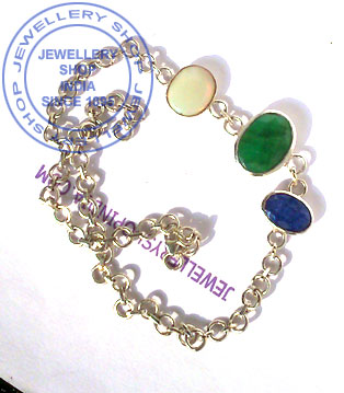 Gemstone Bracelet Design