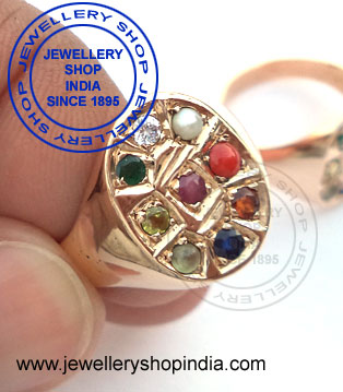 Navratna Gemstone Ring Designs