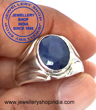 Neelam Gemstone Ring Designs