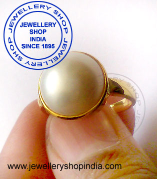 Pearl Gemstone Birthstone Ring Designs