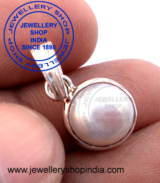 Pearl Gemstone Birthstone Pendant Designs for Women