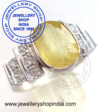 ring in yellow sapphire, pukhraj ring designs, pukhraj, yellow sapphire,  gem,  gems, jewels, gemstones
