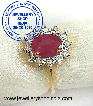 Ruby Gemstone Ring Design