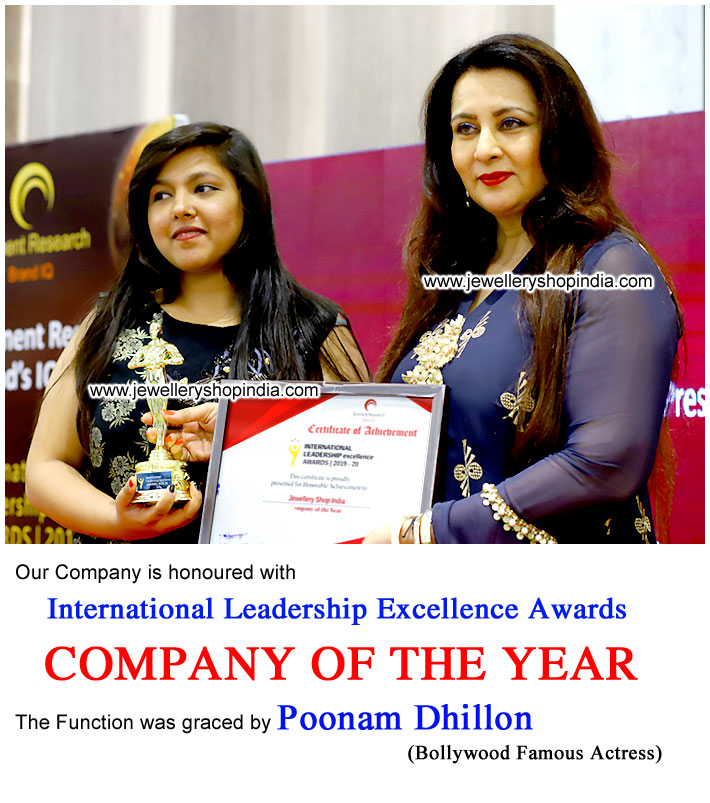 Award Poonam Dhillon Mumbai for Company of the Year