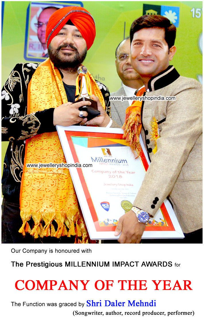 Company of the Year Award by Daler Mehndi Film Actor & Singer