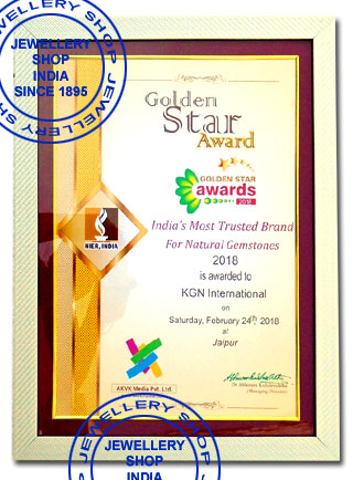 Golden Star Award  for Natural Gemstones
