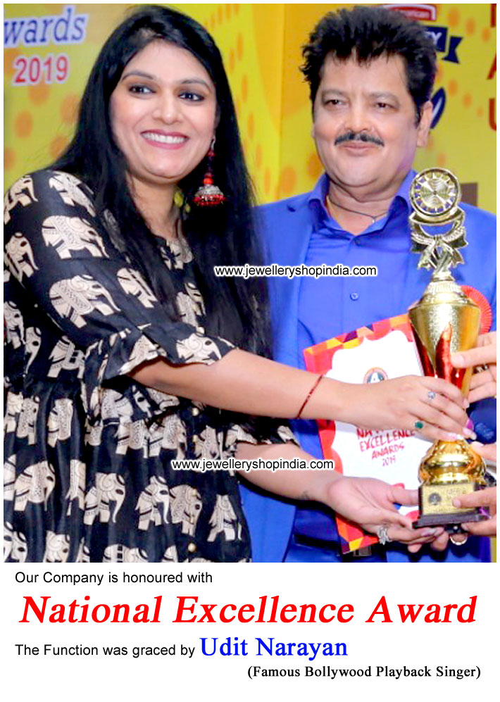 National Excellence Award by Udit Narayan Indian Playback Singer