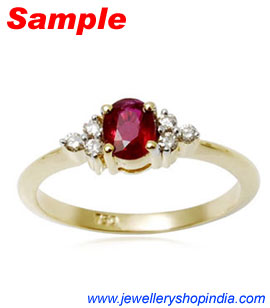 Natural Ruby Gemstone Ring Designs Gems Manik